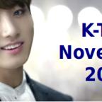 [K-TOP] Novembre 2016