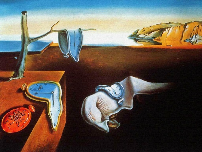 la persistance de la méoire - Dali