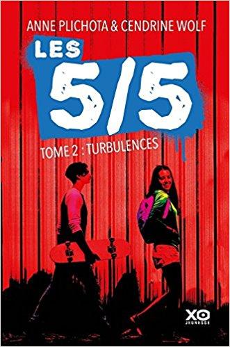 les 5 5 tome 2 turbulences