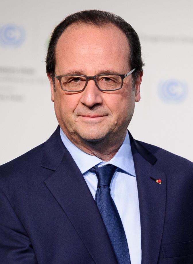 Arrivée des chefs d'Etats et de gouvernements au Bourget. Accueil par François Hollande et Ban Ki-moon, Secrétaire Général des Nations unies