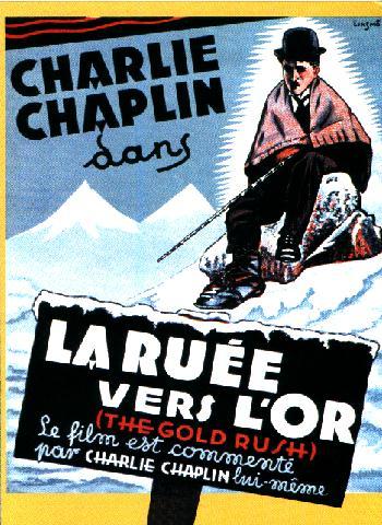 La Ruée vers l'or - Chaplin